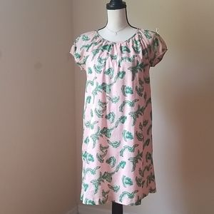 The Webster Miami shift baby doll dress M L